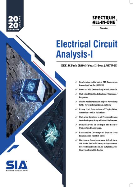 Electrical Circuits Analysis-I (JNTU-K)