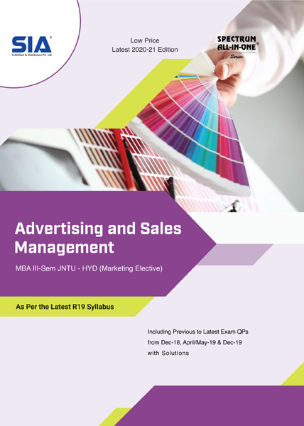 Advertising and Sales Management (R19)