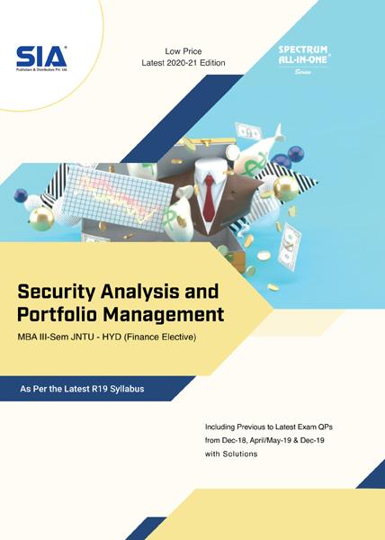 Security Analysis and Portfolio Management (R19)