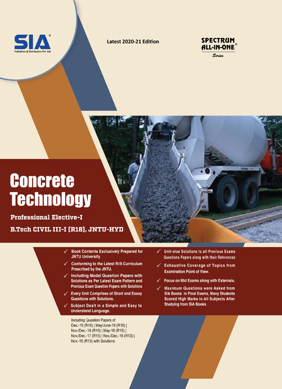Concrete Technology (JNTU-H)