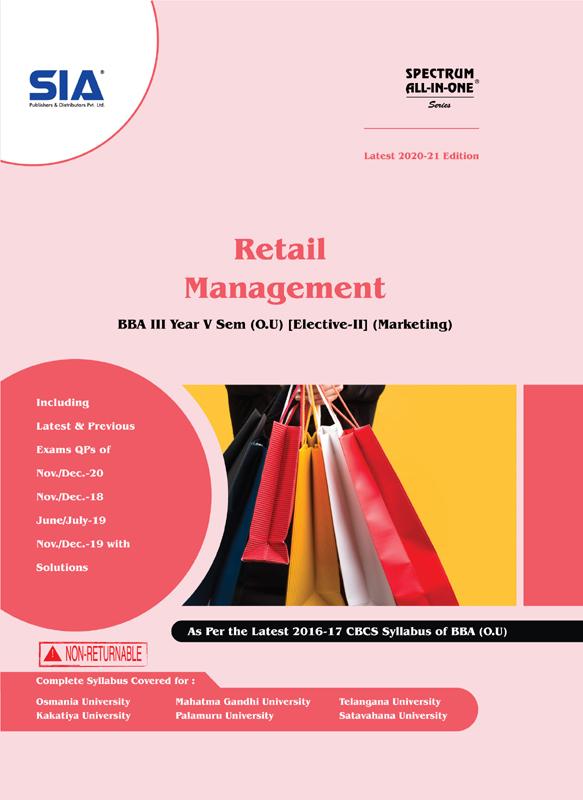 Retail Management (O.U)