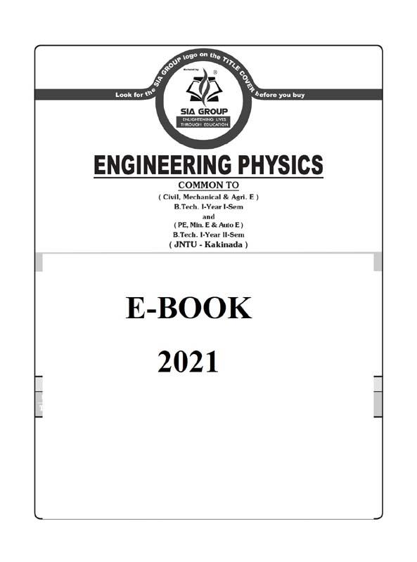 Engineering Physics (JNTU-K) R20