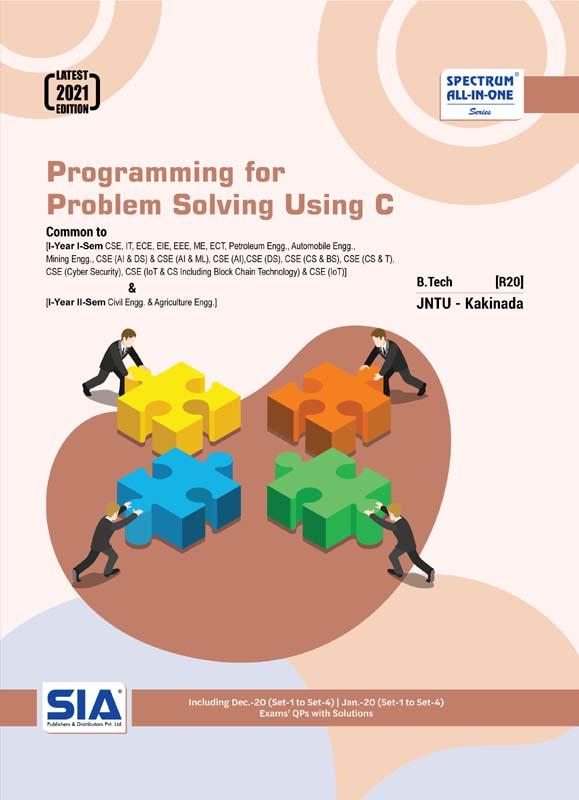 Programming for Problem Solving Using C (JNTU-K)