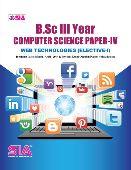 Computer Science Paper-IV, Web Technologies