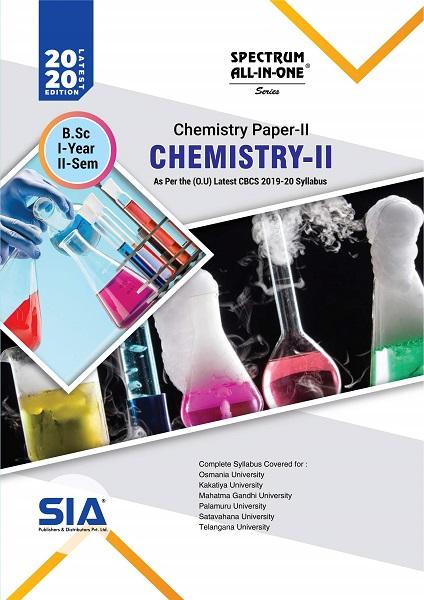 Chemistry Paper-II (Chemistry-II)
