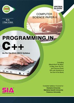 Computer Science Paper-II (C++)