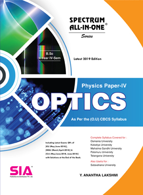 Physics Paper-IV (Optics)