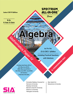 Mathematics Paper-IV (Algebra)