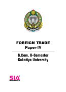 Foreign Trade (Paper-IV) QP