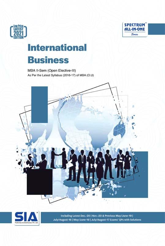 International Business (O.U)