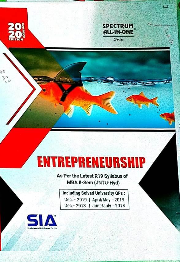 Entrepreneurship (JNTU-H)