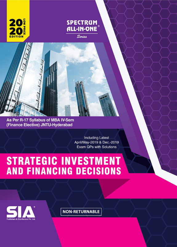 Strategic investment and financing decisions syllabuses investmentgesetz pdf creator