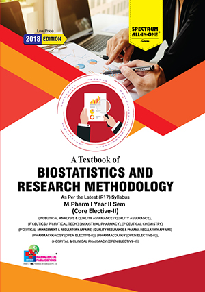 A Textbooks of Biostatistics & Research Methodology