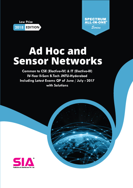 Ad Hoc and Sensor Networks (Elective-IV)
