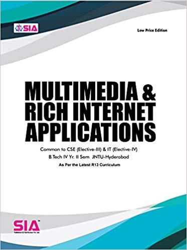 Multimedia & Rich Internet Applications (Elective-IV)