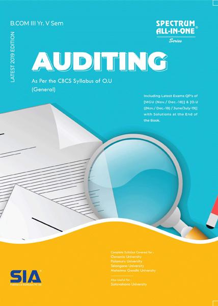 Auditing (O.U)