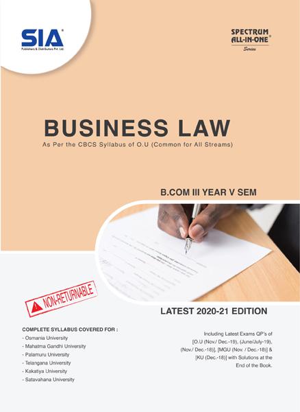 Business Law (O.U)