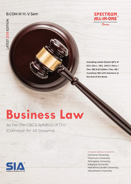 Business Law (O.U)