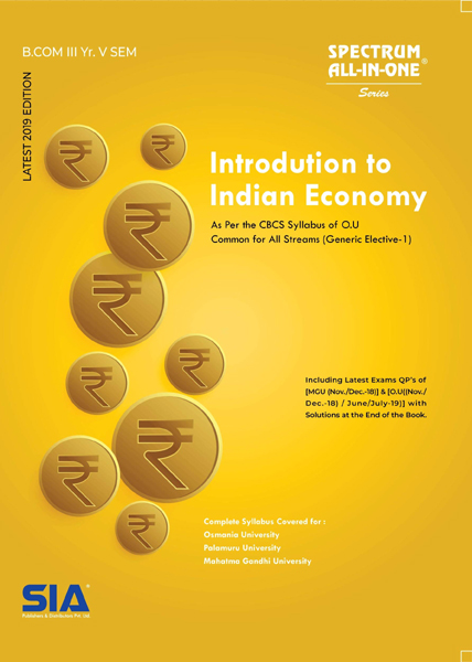 Introduction to Indian Economy (O.U)