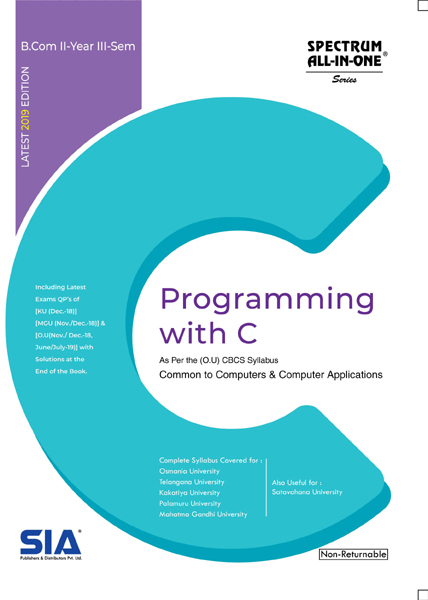Programming with C (OU)