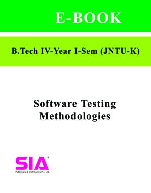 Software Testing Methodologies (Elective-1)(JNTU-K)