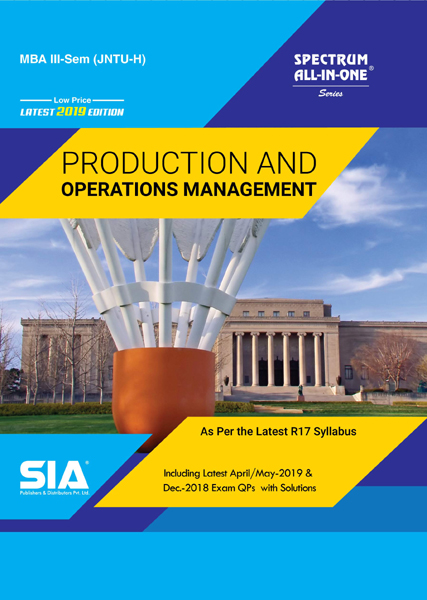 Production and Operations Management (III-Sem JNTU-H)