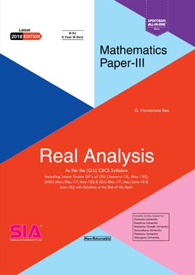 uLektz-B Sc II-III (O U)-Real Analysis (Mathematics Paper - III)-