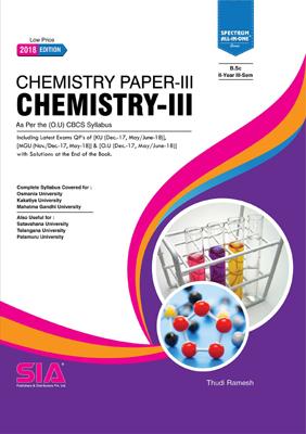 Chemistry-III (O.U)