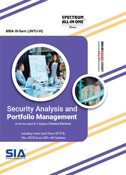 Security Analysis and Portfolio Management (JNTU-H)