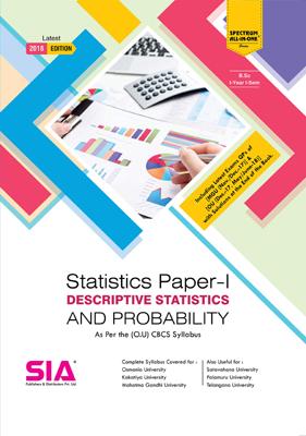Descriptive Statistics Probability (Statistics Paper-I)