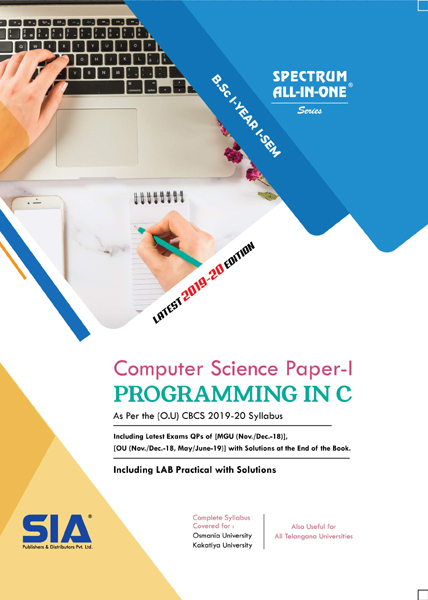 Programming in C (Computer Science Paper-I)