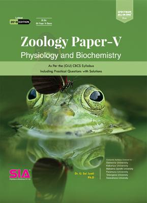 Physiology and Biochemistry (Zoology Paper - V)