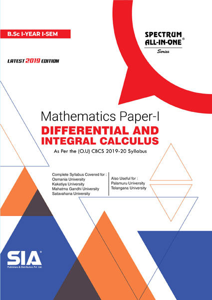 Differential and Integral Calculus (Mathematics Paper-I)
