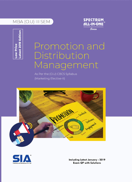 Promotion and Distribution Management (O.U)