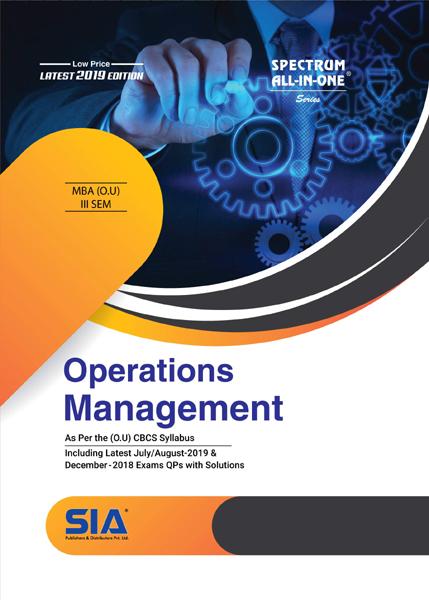 Operations Management (O.U)