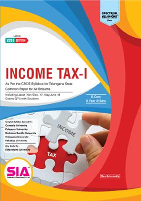 Income Tax - I (O.U)