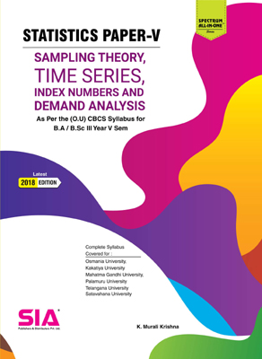 Sampling Theory, Time Series, Index Numbers and Demand Analysis