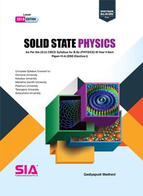 Solid State Physics (O.U)