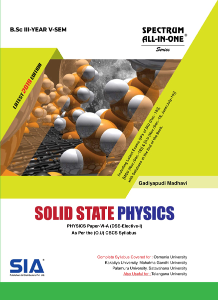Solid State Physics (O.U)