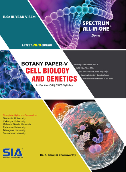 Cell Biology and Genetics (Botany Paper-V)