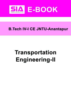 Transportation Engineering-II (JNTU-A)