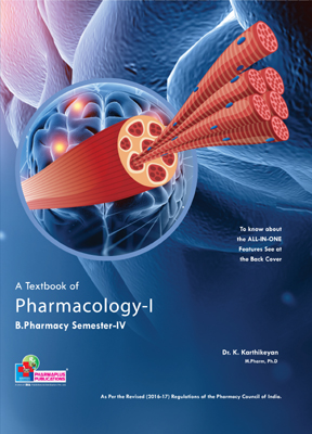 A Textbook of Pharmacology - I (PCI)