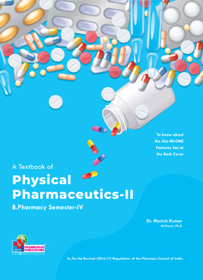 A Textbook of Physical Pharmaceutics - II (PCI)