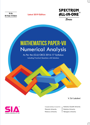 Numerical Analysis (Mathematics Paper - VII)