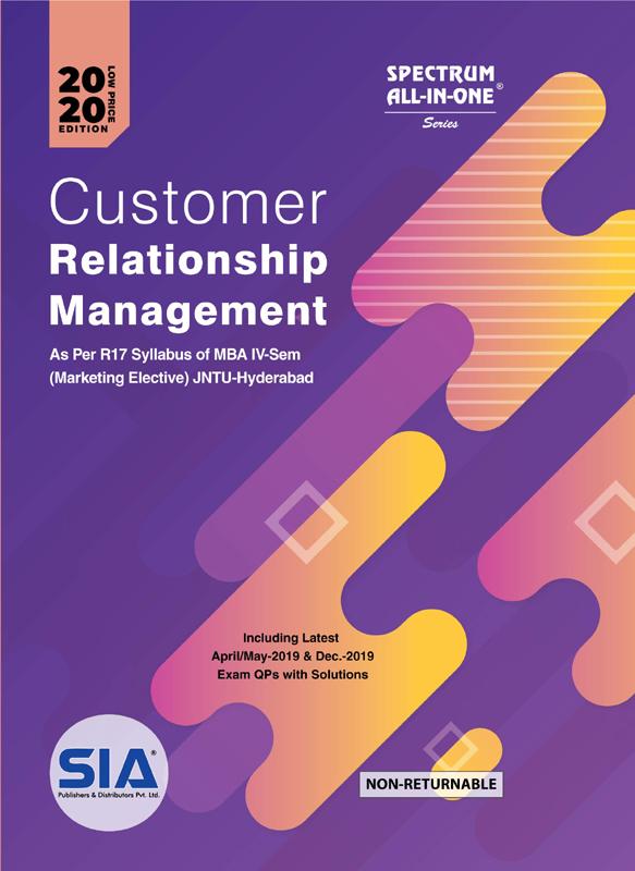 Customer Relationship Management (Marketing Elective)