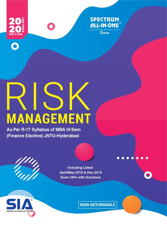 Risk Management (Finance Elective)