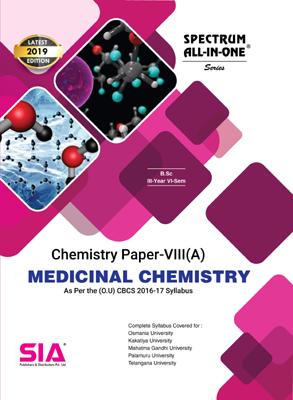 Medicinal Chemistry, Chemistry Paper-VIII (A)