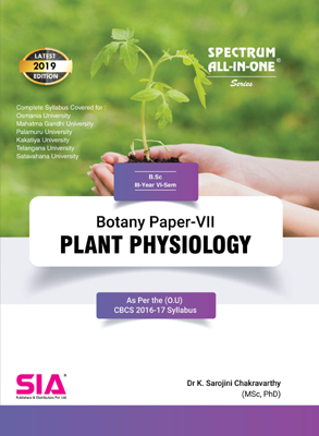 Plant Physiology (Botany Paper-VII)