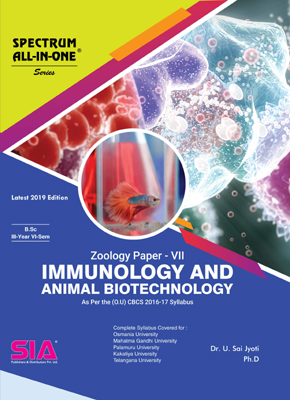 Immunology and Animal Biotechnology (Zoology Paper-VII)