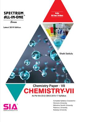 Chemistry Paper-VII (Chemistry-VII)